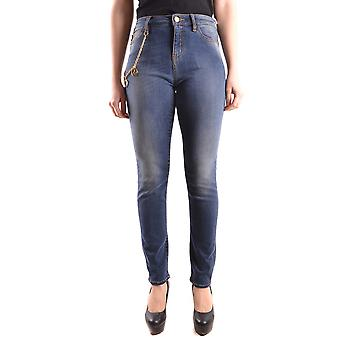 Love Moschino Blue Cotton Jeans