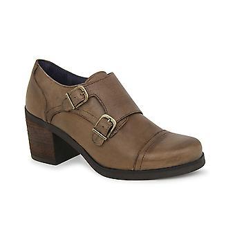 Liberitae Botines Zapato Abotinado Marion En Piel Taupe 21703306-02