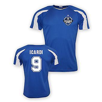 Mauro Icardi Inter Milan Sports Training Jersey (blue) - Kids