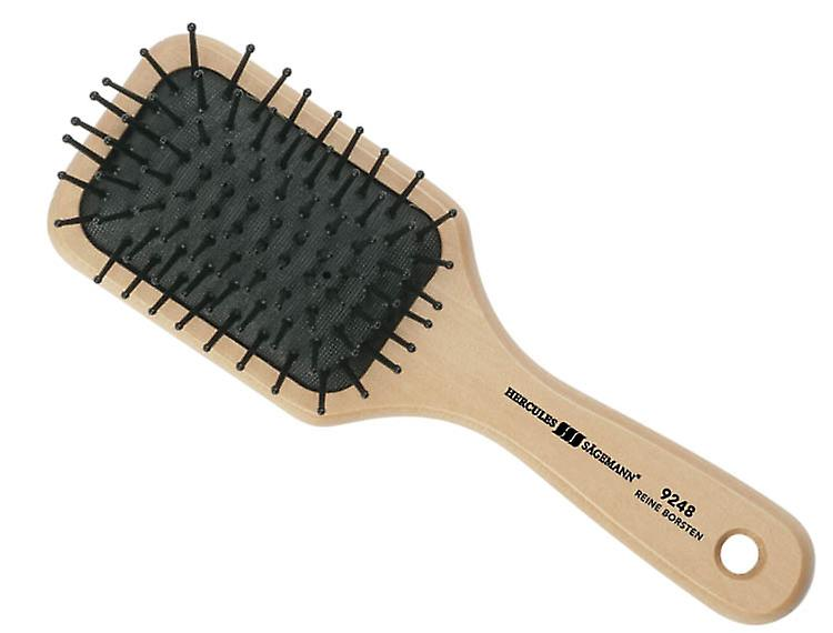 Hercules Sagemann Detangling Mini Paddle Hair Brush Wood