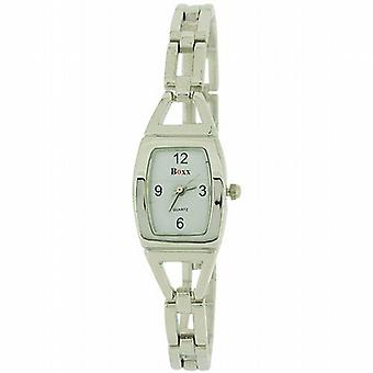 Boxx Silver Tone Bracelet Strap Ladies Dress Watch 40034