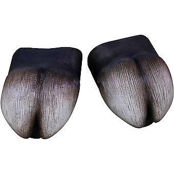 Hufe Abdeckung Füße Latex für Erwachsene