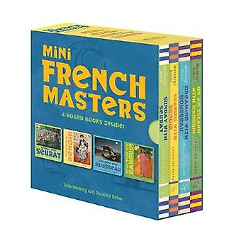 Mini French Masters Boxed Set - 4 Board Books Inside! by Mini French M