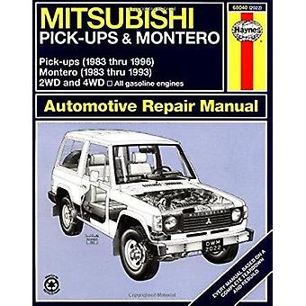 Mitsubishi Pick-ups (1983-1996) and Montero (1983-1993) Automotive Re