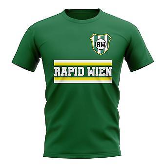 T-Shirt Rapid Wien Core Football Club (vert)