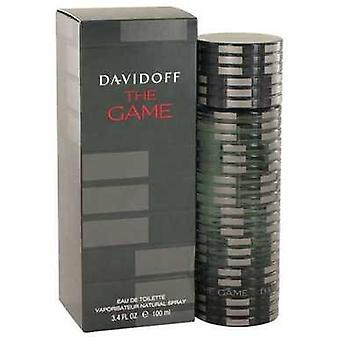 The Game By Davidoff Eau De Toilette Spray 3.4 Oz (men) V728-501567