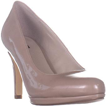 Alfani Women's Marniee Slip On Pumps Dove Nude Patent 7M