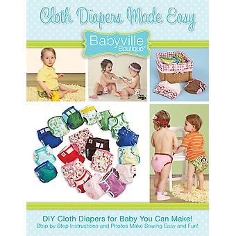 Babyville Boutique Pattern & Instruction Book 1 Cloth Diapers Made Easy 35076