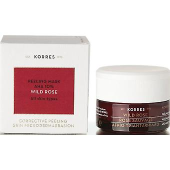 Korres Wild Rose Mask 40 Ml Ahas (Woman , Cosmetics , Skin Care , Masks and exfoliants)