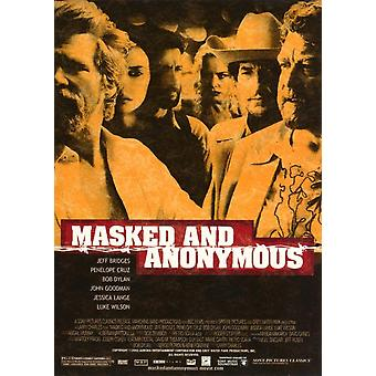 Masked and Anonymous Movie Poster Print (27 x 40)