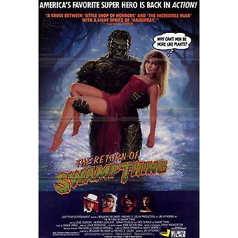 Die Rückkehr der Swamp Thing Movie Poster drucken (27 x 40)