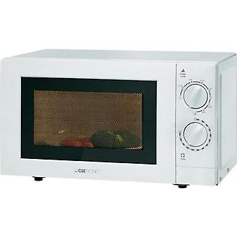 Microwave 700 W Grill function Clatronic MWG786 weiss