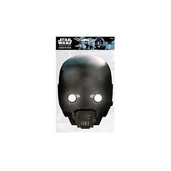 Star Wars Rogue One Mask K-2S0