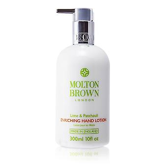 Molton Brown Lime & Patchouli Enriching Hand Lotion 300ml/10oz