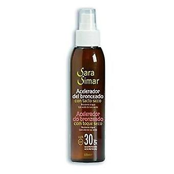 Sara Simar Tanning Accelerator SPF 30 125 ml (Cosmetics , Body  , Sun protection)