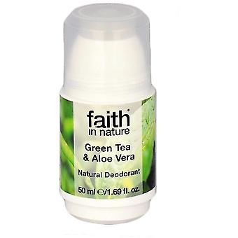 Faith In Nature Roll-On Deodorant Green Tea (Woman , Cosmetics , Body Care , Deodorants)