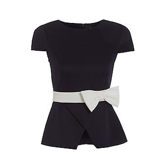 Love2Dress Peplum Top with Bow