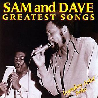 Sam & Dave - Greatest Songs [CD] USA importerer