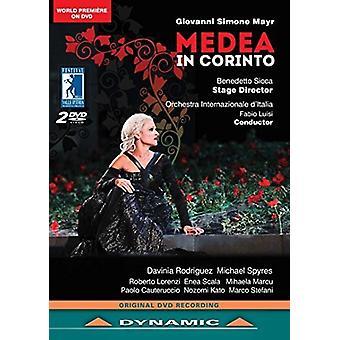 Mayr - Medea i Corinto [DVD] USA import