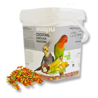 Wuapu Cocktail Wuapu Carolina / agaporni 450 Gr (Birds , Bird Food)