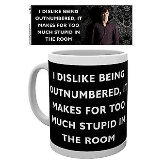 Sherlock Insult Mug