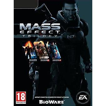 Mass Effect Trilogy PC Game (Code in a Box)