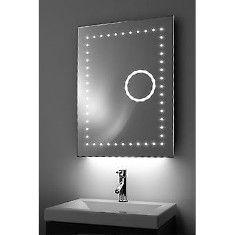Magnification Mirror with Ambient Under Lighting, Demist & Sensor k99