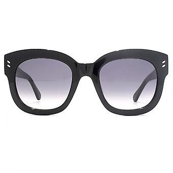 Stella McCartney Essentials Bold Square Sunglasses In Black
