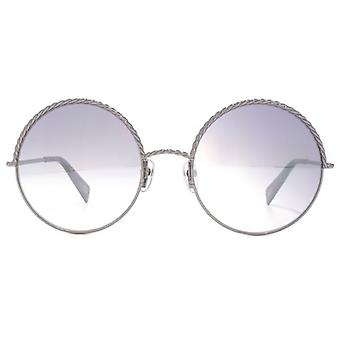 Marc Jacobs Metall Twist Runde Sonnenbrille Ruthenium rot