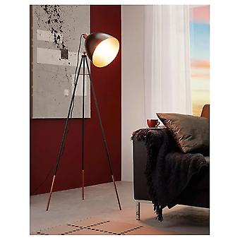 Eglo Chester Standing Copper Dome Floor Lamp