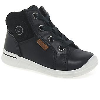 Ecco Nice Lace Girls First Boots