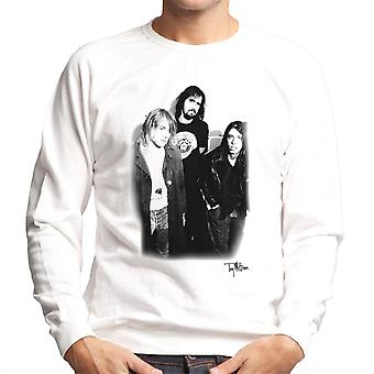 Nirvana Kurt Dave And Krist Men's Sweatshirt