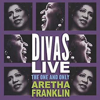Aretha Franklin - Divas Live [CD] USA import