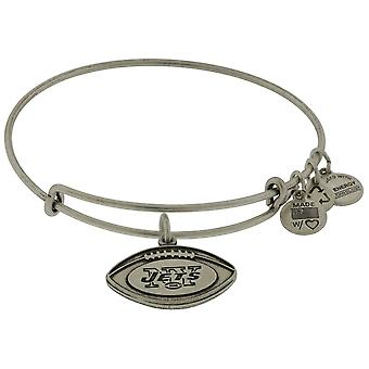 Alex og Ani New York Jets Wire charme armbånd - AS13NYJ02RS