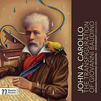 Carollo / ORQ Filarmónica de Moravia / Vronsky - importación de los E.e.u.u. de la Transfiguración de Giovanni Baudino [CD]