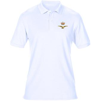 Eagle kroon geborduurd Logo - officiële Koninklijke Luchtmacht Mens poloshirt