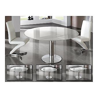 Erweiterbarer Tisch Schuller Alba, weiß