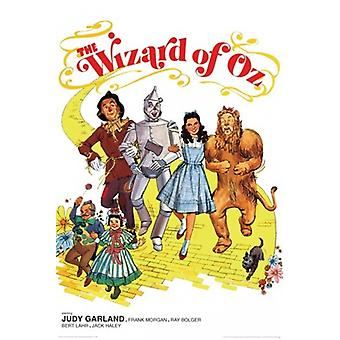 The Wizard of Oz - Retro2 Poster Poster Print