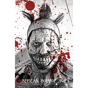 アメリカの怪談 - 曲がりくねったポスター ポスター印刷