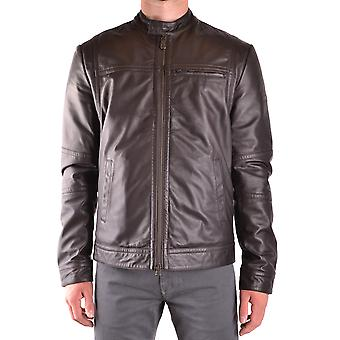 Peuterey men's SAGUARO01961 brown leather jacket