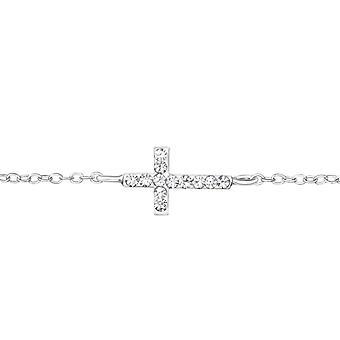 Cross - 925 Sterling Silver Chain Bracelets