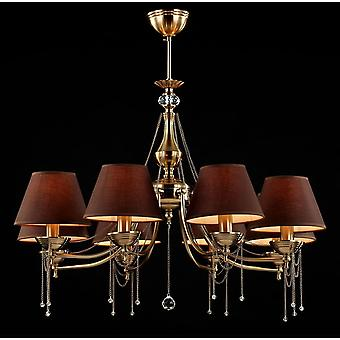 Maytoni Lighting Chester Royal Classic Collection Chandelier, Brass
