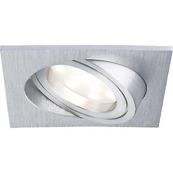 Paulmann Coin 92839 LED recessed light 3-piece set 21 W Warm white Aluminium (brushed)