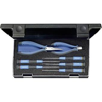 Electrical contractors Tool kit with case 7-piece Gedore