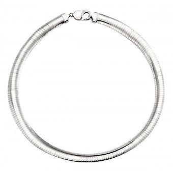 Elements Silver Omega Necklace - Silver