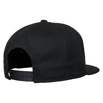 DC Double Up Snapback Cap - Black