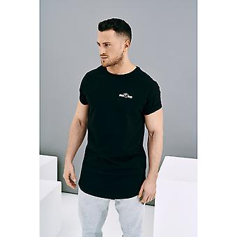 Sport T-Shirt Basic Schwarz XL