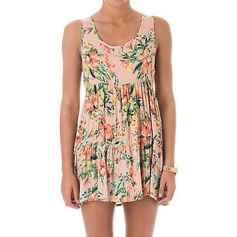 Rip Curl Ladies Paradise Cover Up Loose Fit Tank Dress GOVCA7 Peach