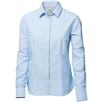 Nimbus Womens/Ladies Rochester Classic Long Sleeve Oxford Shirt Blouse
