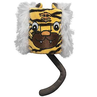 Ica Tiger Tube (Cats , Toys , Plush & Feather Toys)